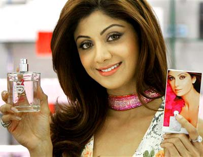 BRITAIN SHILPA SHETTY FRAGRANCE