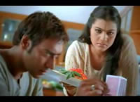 Bollywood - Ajay en Kajol in Whirlpool reclame